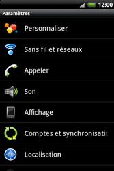 HTC A510e Wildfire S - Internet - activer ou désactiver - Étape 4