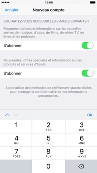 Apple Apple iPhone 6 Plus iOS 10 - Applications - Créer un compte - Étape 16