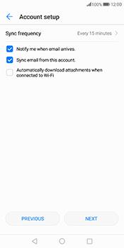 Huawei Mate 10 Pro - E-mail - Manual configuration (yahoo) - Step 7