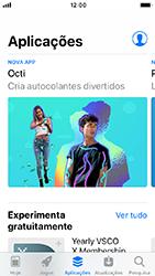 Apple iPhone SE - iOS 12 - Aplicações - Como pesquisar e instalar aplicações -  5