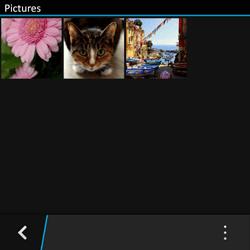 BlackBerry Q10 - Photos, vidéos, musique - Envoyer une photo via Bluetooth - Étape 5