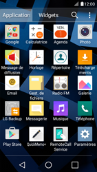 LG K4 - E-mails - Envoyer un e-mail - Étape 3