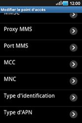 Samsung S5830 Galaxy Ace - Internet - configuration manuelle - Étape 11
