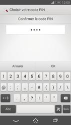 Sony Xperia Z3 Compact - Sécuriser votre mobile - Activer le code de verrouillage - Étape 10