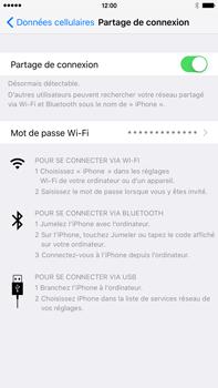 Apple iPhone 6s Plus - Internet et connexion - Partager votre connexion en Wi-Fi - Étape 7
