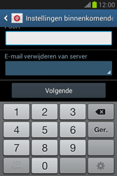 Samsung S6790 Galaxy Fame Lite - E-mail - e-mail instellen: POP3 - Stap 11