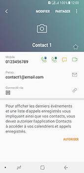 Samsung Galaxy A8 - Contact, Appels, SMS/MMS - Ajouter un contact - Étape 13
