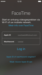 Apple iPhone 5 met iOS 7 - Applicaties - FaceTime gebruiken - Stap 4
