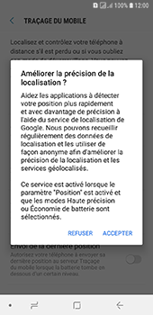 Samsung Galaxy A6 - Appareil - configurer Localiser mon appareil - Étape 8