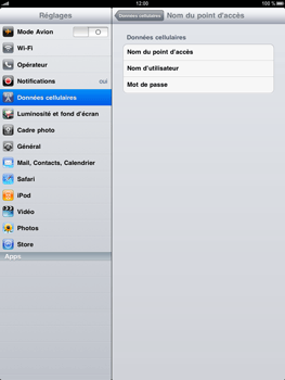 Apple iPad - Internet - Configuration manuelle - Étape 4