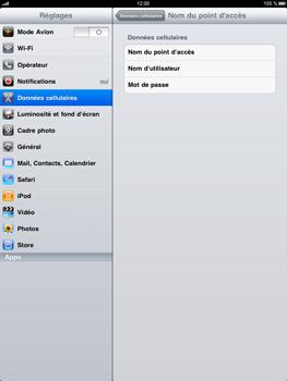 Apple iPad - Internet - configuration manuelle - Étape 5