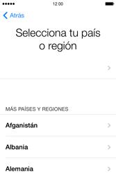 Apple iPhone 4S iOS 7 - Primeros pasos - Activar el equipo - Paso 4