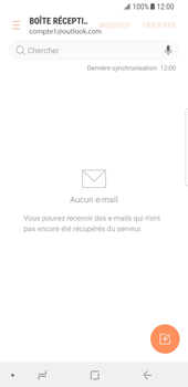 Samsung Galaxy S8 - Android Oreo - E-mail - Configuration manuelle (outlook) - Étape 6