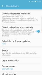 Samsung Galaxy S6 Edge - Android M - Network - Installing software updates - Step 6