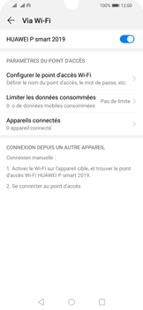 Huawei P Smart (2019) - Internet - comment configurer un point d'accès mobile - Étape 10
