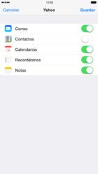 Apple iPhone 6 Plus iOS 8 - E-mail - Configurar Yahoo! - Paso 9