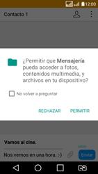 LG K4 (2017) - Mensajería - Escribir y enviar un mensaje multimedia - Paso 16