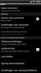 HTC X515m EVO 3D - Voicemail - handmatig instellen - Stap 5