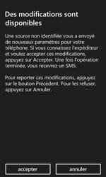 Microsoft Lumia 532 - Paramètres - Reçus par SMS - Étape 4