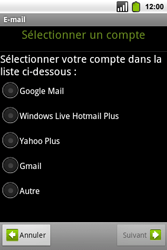 Alcatel OT-991 Smart - E-mail - Configuration manuelle - Étape 7