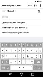 LG K10 2017 - E-mail - Hoe te versturen - Stap 10