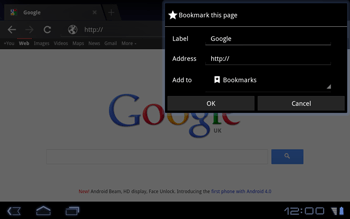 Huawei Mediapad S7-301u - Internet - Internet browsing - Step 5