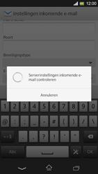 Sony C5303 Xperia SP - E-mail - Handmatig instellen - Stap 11