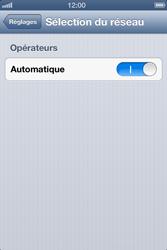 Apple iPhone 4 - iOS 6 - Réseau - utilisation à l'étranger - Étape 7