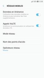 Samsung G920F Galaxy S6 - Android Nougat - Internet - Désactiver du roaming de données - Étape 6