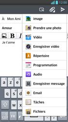 LG P875 Optimus F5 - E-mail - envoyer un e-mail - Étape 10