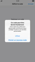 Apple iPhone 8 - Sécuriser votre mobile - Activer le code de verrouillage - Étape 6