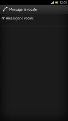Sony LT28h Xperia ion - Messagerie vocale - Configuration manuelle - Étape 6