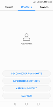 Huawei Mate 10 Pro - Contact, Appels, SMS/MMS - Ajouter un contact - Étape 3