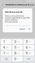Samsung Galaxy J5 (2017) - Sécuriser votre mobile - Personnaliser le code PIN de votre carte SIM - Étape 10