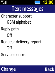Samsung B550H Xcover 550 - SMS - Manual configuration - Step 6