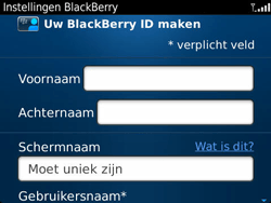 BlackBerry 9360 Curve - BlackBerry activeren - BlackBerry ID activeren - Stap 8