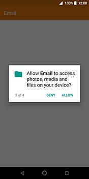 ZTE Blade V9 - E-mail - Manual configuration IMAP without SMTP verification - Step 6