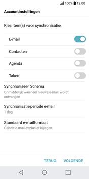 LG Q6 (M700) - E-mail - Handmatig Instellen - Stap 9