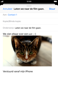 Apple iPhone 6s Plus - iOS 12 - E-mail - Bericht met attachment versturen - Stap 14