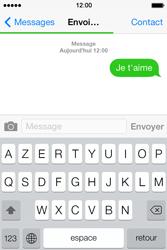 Apple iPhone 4 - Contact, Appels, SMS/MMS - Envoyer un SMS - Étape 9