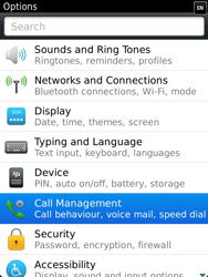 BlackBerry 9810 Torch - Voicemail - Manual configuration - Step 4