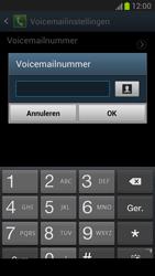 Samsung N7100 Galaxy Note II - Voicemail - Handmatig instellen - Stap 6