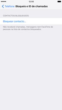 Apple iPhone 7 Plus - Chamadas - Como bloquear chamadas de um número -  5