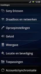 Sony Ericsson Xperia Ray - Mms - Handmatig instellen - Stap 4