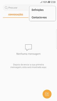 Samsung Galaxy S7 Edge - Android Oreo - SMS - Como configurar o centro de mensagens -  5
