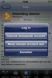Apple iPhone 3G S - Applicaties - Downloaden - Stap 6