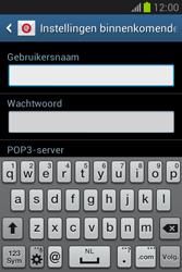 Samsung S6790 Galaxy Fame Lite - E-mail - e-mail instellen: POP3 - Stap 8