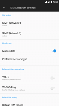 OnePlus 5 - Internet - Manual configuration - Step 5