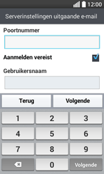 LG D320 L70 - E-mail - Account instellen (IMAP zonder SMTP-verificatie) - Stap 14