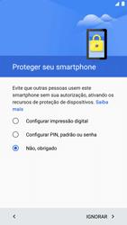 LG Google Nexus 5X - Primeiros passos - Como ativar seu aparelho - Etapa 17